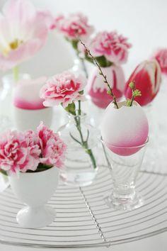 Nog eieren over van Pasen? Gebruik ze als decoratie!