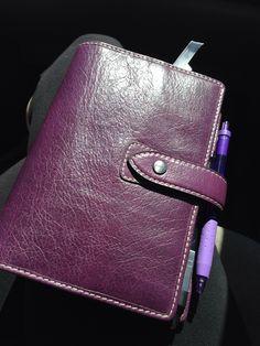 Purple personal Malden in sunlight