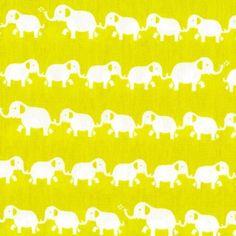 Pop Elephants Lime