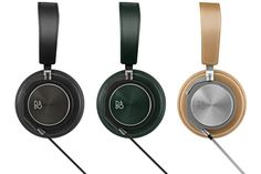 Best Tech Gifts; Bang & Olufsen's BeoPlay H6 leather-and-lambskin headphones, offered in black, agave-green, or natural; $400