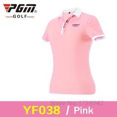 Women Short Shirt Ladies Golf Clothing Shirts Coat Quick Dry