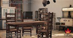 Trompe Loeil - Antique Kitchen Collection