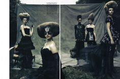 A Dream of a Dress  Magazine: Vogue Italia September 2009