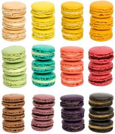 -delicious.divine.design: Colorful French Macaroons