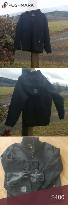 Prada light windproof jacket Worn once 100% Authentic in excellent condition.With removal hoodie Prada Jackets & Coats