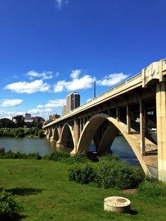 Broadway Bridge in Saskatoon #YXE