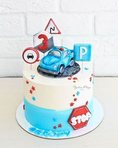 Police Birthday Cakes, Baby Boy Birthday Cake, Royal Icing Cakes, Fondant, Drip Cakes, Cakes For Boys, Themed Cakes, Beautiful Cakes, Chocolate Cake