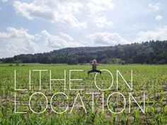 #LitheonLocation wide second perfection!  Check out #LitheInstructor Danielle Ingerman in a cornfield in Stowe, Vermont!