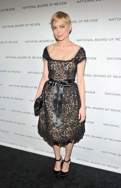 Michelle Williams in Oscar de la Renta