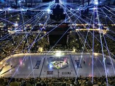 Consol energy center in Pittsburgh before game 1 of the Stanley Cup Finals 2016 between Penguins and Sharks.