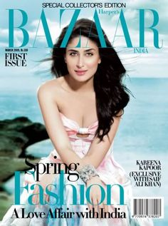 Watch on the cover photos. Check out on the cover photos for Kareena Kapoor Khan at Bollywood Hungama Kareena Kapoor Pics, Magazine Cover Design, Magazine Covers, Film Genres, Harpers Bazaar, Cover Pages, Bollywood Actress, Bollywood Celebrities, Editorial Photography