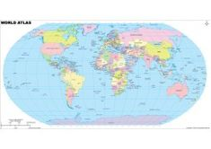 The world Atlas Map shows all the countries of the World, along with their capital. This map can be used as reference material in the textbooks, and atlases. The digital map is available in various editable and non-editable formats. Blank World Map, World Atlas Map, Cool World Map, Usa Road Map, Latitude And Longitude Map, World Geography Map, World Political Map, Cheater Quotes, Vienna Map