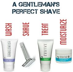 Great products for men that need a great shave!
