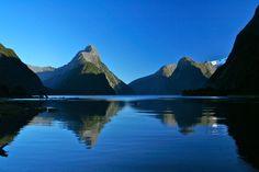 Milford Sound ( Piopiotahi in Māori ) , New Zealand
