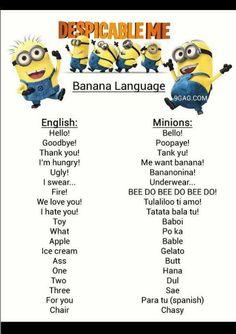 Funny Quotes | Minions Language