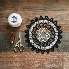 """This is one of the first doilies I made, before I started to design my own patterns!"""