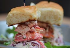 Lobster Sliders from the Lobster Joint in #NewYork