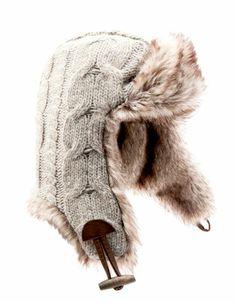 Bershka Romania - Knit aviator hat