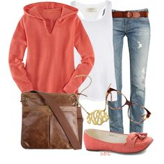 Off was , now is $76! Comfy coral (Down The Line Hoody - Sweaters & Fleece - Tops - Title Nine $76)