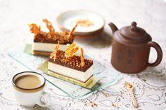 Verdade de sabor: Арахисовые пирожные / Barras mousse de manteiga de amendoim