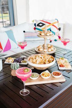 Cinco de Mayo Celebration styled by The TomKat Studio   Get recipes, decorating ideas + download free printable designs for your fiesta! #tomkatstudio for #gardenfreshgourmet #sponsored #cincodemayo