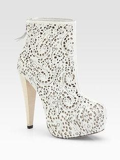 Alice and Olivia Suede Ankle Boots