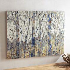 Mosaic Woodlands Wall Art | Pier 1 Imports