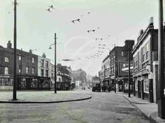 Woolwich High Street: looking west from Beresford Street 1957