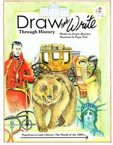 Draw and Write Through History Book 5: Napoleon to Lady Liberty: The World of the 1800's, Mardel