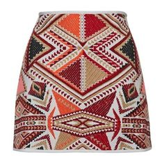 Boho Tapestry Skirt ($35) ❤ liked on Polyvore featuring skirts, bohemian style skirts, boho skirts, tapestry skirt, red skirts and bohemian skirts