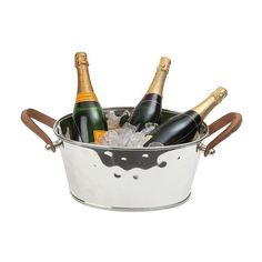 Silver-plated champagne bath, $305* (GBP#164.95), Annabel James