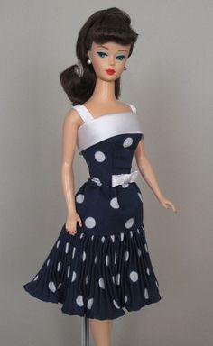Uptown Girl - Vintage Barbie Doll Dress Reproduction Barbie Clothes on eBay http://www.ebay.com/usr/fanfare1901?_trksid=p2047675.l2559