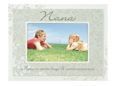 A nana is warm hugs and sweet memories. Frame that special moment spent with your nana in this thoughtful frame from malden international designs featuring a double layer color scheme. Family Picture Frames, Wood Picture Frames, Picture On Wood, Hugs, Grandchildren Pictures, Frame Wall Collage, Nana Gifts, Warm Hug, Sweet Memories