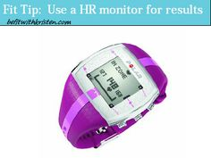Friday Fit Tip:  Use a Heart Rate Monitor for Accuracy and Results