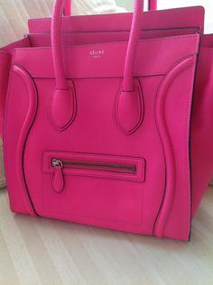 Hot pink Celine bag