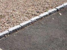 Gravel for driveway Driveway Edging, Paver Edging, Gravel Driveway, Driveway Entrance, Driveway Landscaping, Backyard Fences, Driveway Ideas, Gravel Path, Landscaping Design