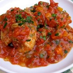 Skinny Slow Cooker Chicken Thighs Osso Buco Recipe