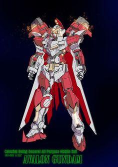 Avalon Gundam by tosthage