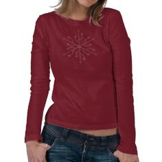 Snowflake Geek - Soft Color USB T Shirts ¡Just for her!