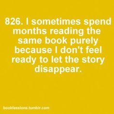 This is me with Dance of Dragons. I dream about it almost every night, but I'm too scared to finish the book because I don't want to have to wait for the next one.