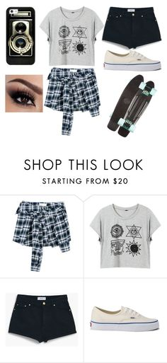 """""""Untitled #19"""" by sofi-the-first1912 on Polyvore featuring Faith Connexion, MANGO, Vans and Casetify"""