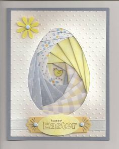Iris Easter Egg 0309 by galej - Cards and Paper Crafts at Splitcoaststampers