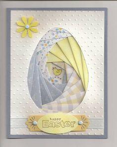 Iris Easter Egg 0309 by galej - Cards and Paper Crafts at Splitcoaststampers