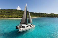 Virgin Islands sailing with kekoa