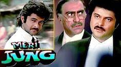 Anil Kapoor Vs Amrish Puri Meri Jung Scene from super hit action movie Meri Jung starring Anil Kapoor, Meenakshi Seshadhri, Nutan, Javed Jaffrey, Amri. Javed Jaffrey, Amrish Puri, Action Movies, Bollywood, Retro, Cards, Movie Posters, Fictional Characters, Film Poster