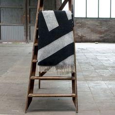 Graphic Striped Blanket - TRNK
