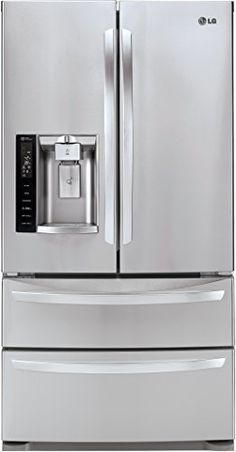 LG LMXS27626S French Door Refrigerator, 27.0 Cubic Feet, Stainless Steel   	  	    	  	$ 3,189.00 Refrigerators Product Features French Door Refrigerator  Spill Protector Shelves Glide N' Serve Crisper Drawer Ice Plus Accelerated Freezing Ice and Water Dispenser Refrigerators Product Description 27.0 Cu. Ft. Stainless Steel French Door Refrigerator – Energy Star Related Refrigerators Products  http://www.refrigeratorsworld.com/lg-lmxs27626s-french-door-refrigerator-27-0-cubic-f..