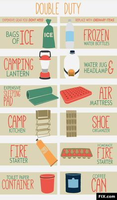the essential supplies for any camping trip