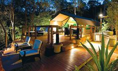 tandara-This luxury camping option within Lane Cove National Park and Lane Cove River Tourist Caravan Park is a stone's throw from Sydney's CBD