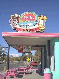 Route 66 -- Kingman, Arizona.